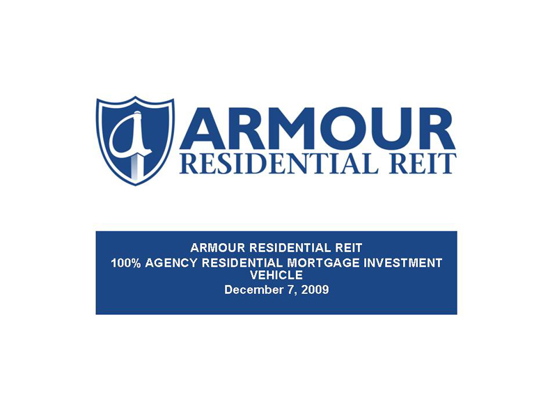 ARMOUR Residential REIT logo