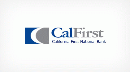 California First National Bancorp logo