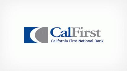 California First National Bancorp logo