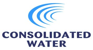 Consolidated Water Co. logo