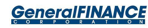 General Finance Corporation logo