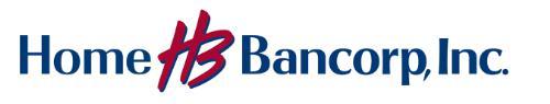 Home Bancorp logo