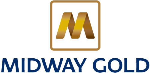 Midway Gold Corp. logo