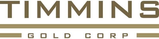 Timmins Gold Corp. logo