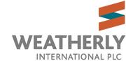 Weatherly International plc logo