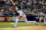 Clay Buchholz Leads Red Sox in Rain Shortened Victory