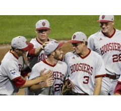 Image for Indiana's Joey DeNato Shuts Down Louisville 2-0 in CWS