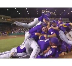 Image for LSU Routs Oklahoma, First Team To College World Series