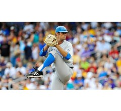 Image for UCLA Adam Plutko Outduels LSU Aaron Nola in 2-1 CWS Victory