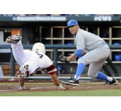 Image for UCLA Outduels NC State in 2-1 CWS Victory