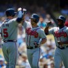 Braves Dan Uggla Homers Twice in 8-1 Rout of Dodgers