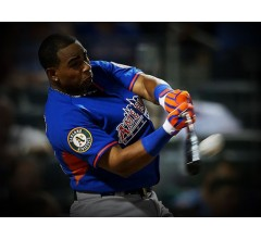 Image for Yoenis Cespedes Slugs His Way to 2013 Home Run Derby Title