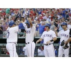 Image for Nelson Cruz Grand Slam Leads Rangers in 10-5 Victory