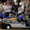 Atlanta Braves Tim Hudson Leaves Game After Ankle Injury