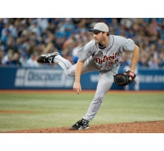 Image for Tigers Justin Verlander Dominates Toronto in 11-1 Rout