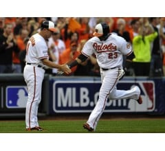Image for Orioles Use Eight Run Eighth to Pull Away from Tigers