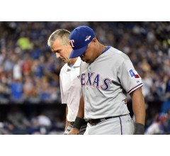 Image for Rangers Adrian Beltre Ruled Out for Game 2 of ALDS