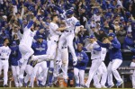 Royals Win Game One of World Series in 14 Innings