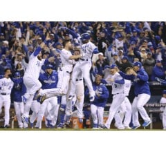 Image for Royals Win Game One of World Series in 14 Innings