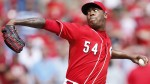 Dogders Deal Prospects for Reds Closer Aroldis Chapman