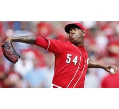 Image for Dogders Deal Prospects for Reds Closer Aroldis Chapman