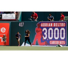Image for Adrian Beltre Reaches 3,000 Careers Hits