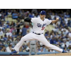 Image for Los Angeles Dodgers Alex Wood Has Shoulder Inflammation