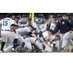 Image for Yankees Have Huge On-Field Brawl with Tigers