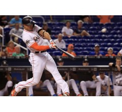 Image for Miami's Giancarlo Stanton Sets Marlins Home Run Record