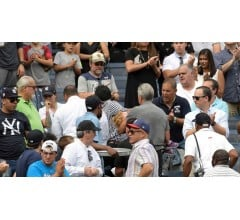 Image for Young Girl Hit by Foul Ball Rushed to Hospital