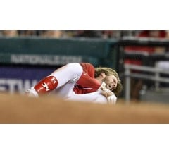 Image for Bryce Harper Hoping to Return Monday from Knee Injury