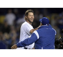Image for Dodgers End Losing Streak at 11 Behind Ace Clayton Kershaw