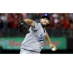 Image for Clayton Kershaw Gets Chance to Pitch LA into Fall Classic