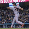 Joe Panik Becomes First MLB Player to Homer in Consecutive 1-0 Victories