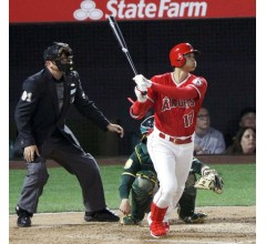 Image for Ohtani Goes Deep in Third Straight Game for Angels