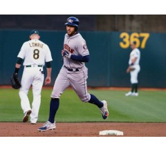Image for George Springer 6-for-6 in Astros Rout of Athletics