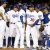 Dodgers Use Nine Pitchers in Nine-Inning Game