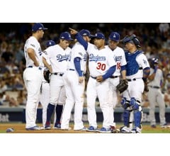 Image for Dodgers Use Nine Pitchers in Nine-Inning Game