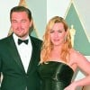 Leonardo DiCaprio and Kate Winslet catch up