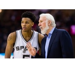 Image for San Antonio Spurs Lose Dejounte Murray to Severely Sprained Ankle