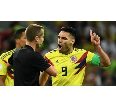 Image for American Referee Accused of Bias Towards England by Colombia's Falcao