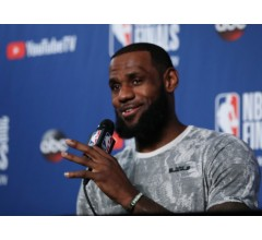 Image for Lakers NBA Title Odds Slashed After LeBron James Signs with Team