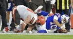 Report: Bill Quarterback AJ McCarron Goes Down with Fractured Collarbone