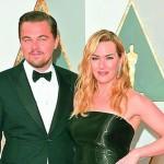 Leonardo DiCaprio and Kate Winslet catch up