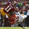 Terrelle Pryor Tells Rams Safety Through Tweet Not to Aim for Knees