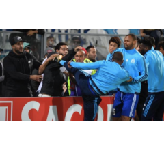 Image for UEFA Starts Disciplinary Proceedings Against Marseille's Patrice Evra