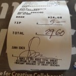 Credit Card Receipt Signatures Becoming A Thing Of The Past