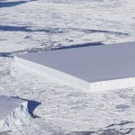Rare Rectangular Iceberg Found In Antarctica