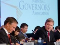 Governors Arrive in Washington with Possible Presidential Candidates