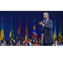 Image for Barack Obama Talks Up Africa Deals